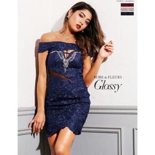 ローブ(ROBE)の ROBE de FLEURS Glossy ミニドレス(ナイトドレス)