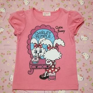 シャーリーテンプル(Shirley Temple)のシャーリーテンプル  キューティーバニーTシャツ  110(Tシャツ/カットソー)