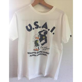 アルファインダストリーズ(ALPHA INDUSTRIES)の未使用 アルファ Tシャツ Mサイズ(Tシャツ/カットソー(半袖/袖なし))