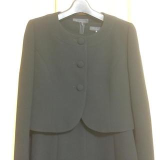 ブラックフォーマルアンサンブル(ワンピース+ジャケット)9号  ◆礼服喪服(礼服/喪服)
