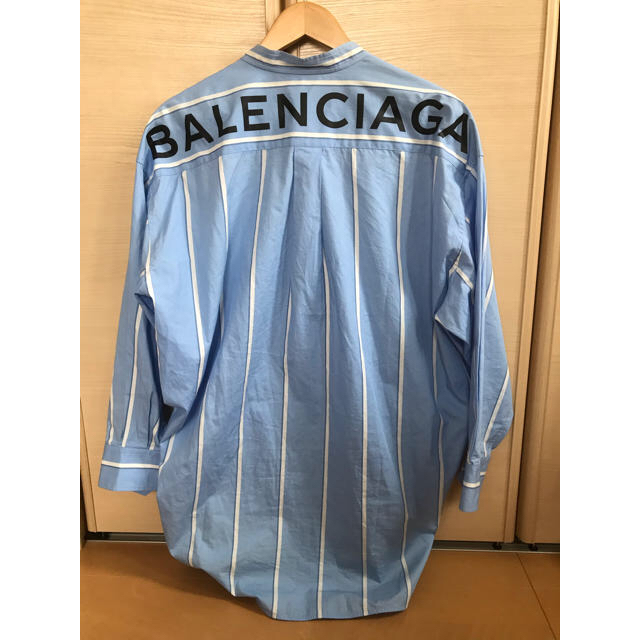 Balenciaga(バレンシアガ)の18SS BALENCIAGA バレンシアガ ニュースウィングシャツ 36 レディースのトップス(シャツ/ブラウス(長袖/七分))の商品写真