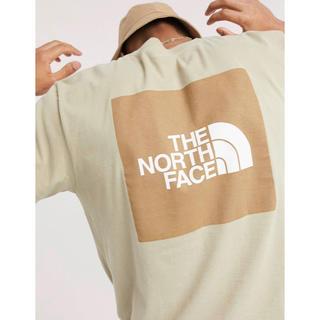 THE NORTH FACE - 【Lサイズ】日本未発売 ノースフェイス レッドボックス Tシャツ ベージュ