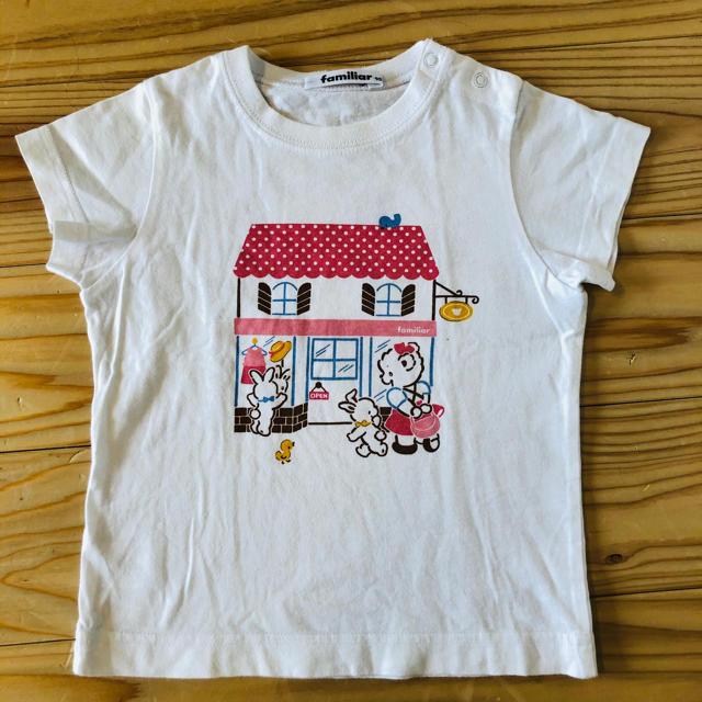 familiar(ファミリア)のfamiliar⭐︎ティシャツ キッズ/ベビー/マタニティのキッズ服女の子用(90cm~)(Tシャツ/カットソー)の商品写真
