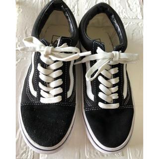 VANS - VANS /オールドスクール スニーカー/ブラック*ホワイト