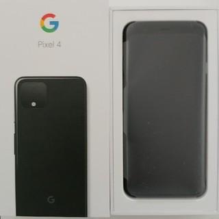 Softbank - Google Pixel 4 128GB ブラック SIMロック解除済 eSIM