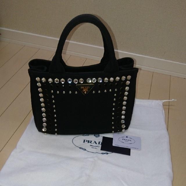 PRADA(プラダ)の【専用】プラダカナパ   海外ノベルティー レディースのバッグ(トートバッグ)の商品写真