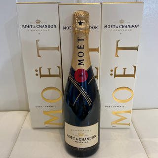 モエエシャンドン(MOËT & CHANDON)のシャンパン ☆モエシャンドン☆  3本セット(シャンパン/スパークリングワイン)