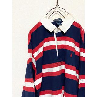 ラルフローレン(Ralph Lauren)の【激レア!】90s ラルフローレン ラガーシャツ ワンポイント 刺繍(シャツ)