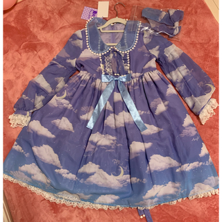 Angelic Pretty - angelic  pretty Misty Sky ノベルティマスクセット