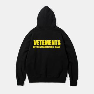 Balenciaga - VETMENTS   秋冬パーカー アウトレット  メンズ ヴェトモン ブラック