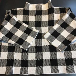 マカフィー(MACPHEE)のTOMORROWLAND 5部袖セーター(ニット/セーター)