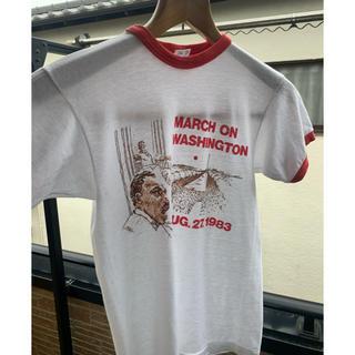 Champion - 80's チャンピオン USA製  ヴィンテージ  20周年記念リンガーTシャツ