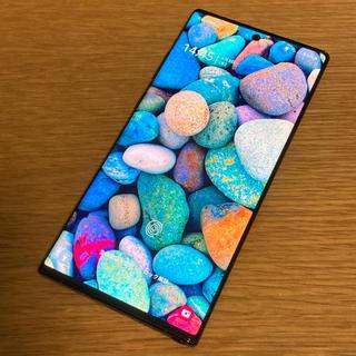 Galaxy - SIMフリー Galaxy Note 10+ 香港版 スナドラ855モデル