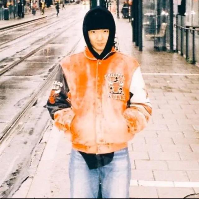 JOHN LAWRENCE SULLIVAN(ジョンローレンスサリバン)のcontenastore購入 vintage leather jacket 稀少 メンズのジャケット/アウター(レザージャケット)の商品写真