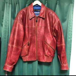 ジョンローレンスサリバン(JOHN LAWRENCE SULLIVAN)のcontenastore購入 vintage leather jacket 稀少(レザージャケット)