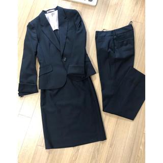 アオキ(AOKI)のスーツ AOKI スカート パンツ ジャケット セット cancam(スーツ)