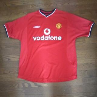 アンブロ(UMBRO)のデサントvodafoneサッカーシャツ(ウェア)