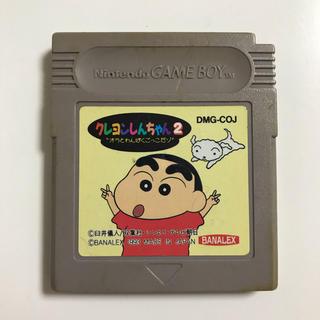ゲームボーイ(ゲームボーイ)のGB クレヨンしんちゃん2(家庭用ゲームソフト)
