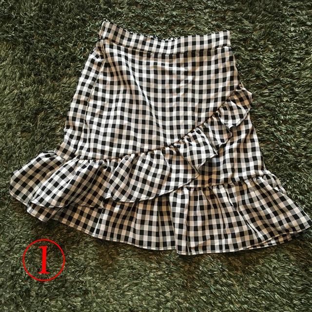ミニスカート 3点セット レディースのスカート(ミニスカート)の商品写真