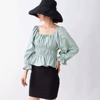 ZARA - ♡ mint green blouse ♡