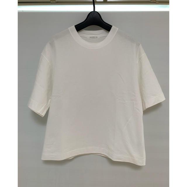 TOMORROWLAND(トゥモローランド)のギャルリーヴィー  Tシャツ 白 レディースのトップス(Tシャツ(半袖/袖なし))の商品写真