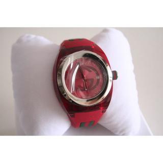 グッチ(Gucci)の正規品 グッチ GUCCI SYNC 腕時計 レッド 日本未発売(腕時計(アナログ))