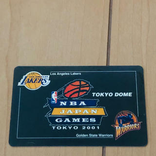 【中古】NBA JAPAN GAMES TOKYO 2001 eチケットカード(バスケットボール)