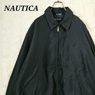 ノーティカ(NAUTICA)のノーティカ  スウィングトップ  ブルゾン 刺繍ワンポイント(ブルゾン)