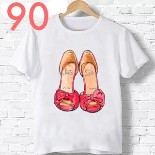 新品 ♡ 人気  大人可愛い サンダル Tシャツ 90