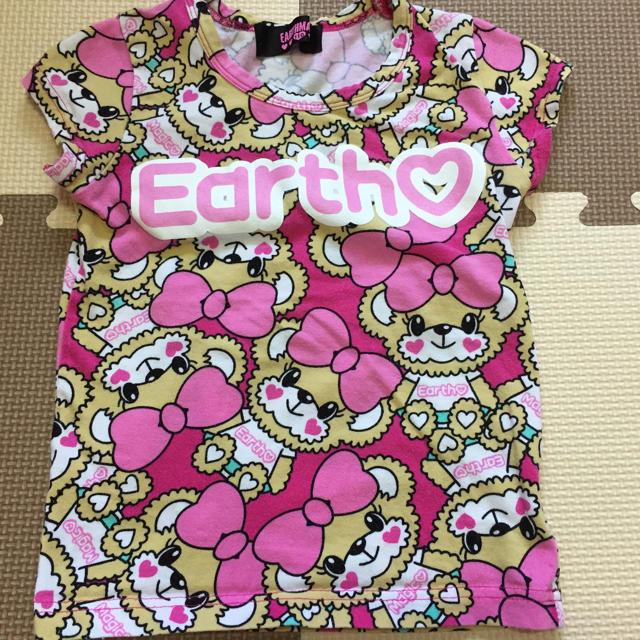 EARTHMAGIC(アースマジック)のアースマジックTシャツ キッズ/ベビー/マタニティのキッズ服女の子用(90cm~)(Tシャツ/カットソー)の商品写真