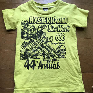 ヒステリックグラマー(HYSTERIC GLAMOUR)のHYSTERICGLAMOUR  半袖Tシャツ 95サイズ(Tシャツ/カットソー)