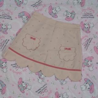 エミリーテンプルキュート(Emily Temple cute)の土日限定セール エミリーテンプルキュート 台形 ミニスカート ドット柄(ミニスカート)