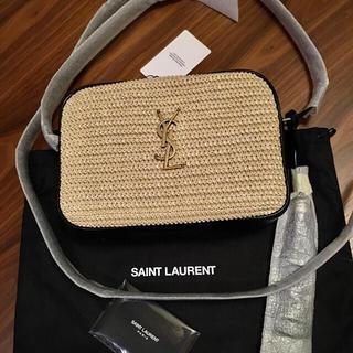 Saint Laurent - 新品正規品 SAINT LAURENT Lou ルー ラフィア ショルダーバッグ