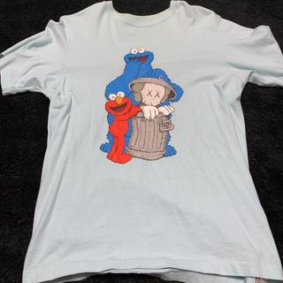 セサミストリート(SESAME STREET)のKAWS セサミストリート コラボTシャツ(Tシャツ/カットソー(半袖/袖なし))
