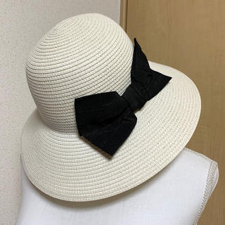 ef-de - ef-de リボン付き帽子 2way ストローハット
