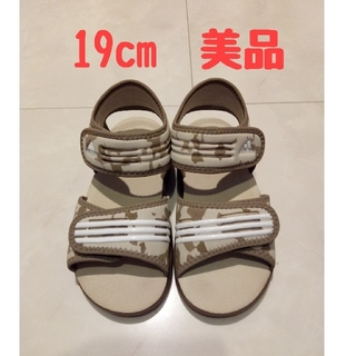 adidas - サンダル アディダス 19cm