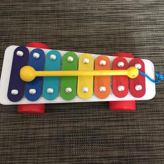 フィッシャープライス(Fisher-Price)のフィッシャープライス鉄琴(楽器のおもちゃ)