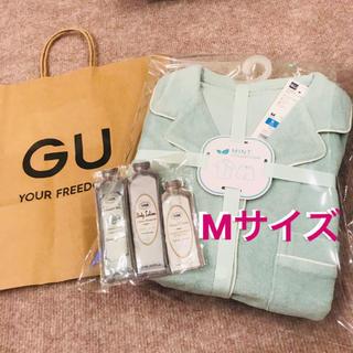 SABON - 【新品完売品】✿ GU×SABONミントパイルパジャマ(半袖)Mサイズ ✿ 1点