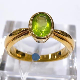 アンティーク☆K18 ペリドット リング(リング(指輪))