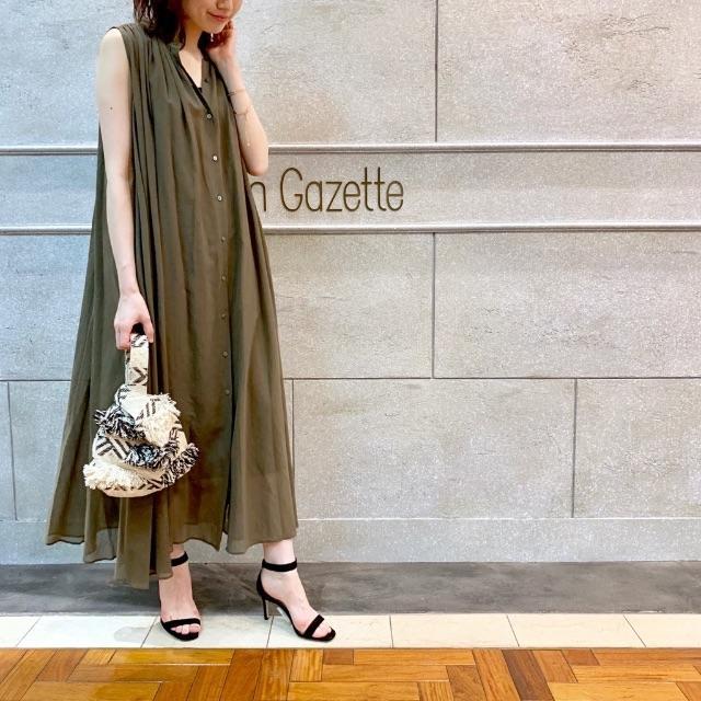 DEUXIEME CLASSE(ドゥーズィエムクラス)の三尋木さん着用 Whim Gazette ウィムガゼット ワンピース レディースのワンピース(ロングワンピース/マキシワンピース)の商品写真