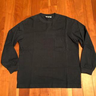 ユニクロ(UNIQLO)のユニクロ U メンズ クルーネック長袖Tシャツ L(Tシャツ/カットソー(七分/長袖))