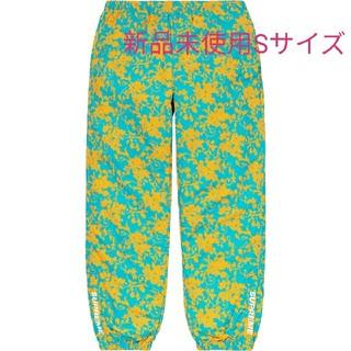 Supreme - 20SS Supreme Warm Up Pant Teal Floral