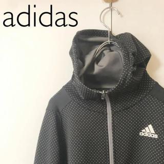 adidas - adidas ドット柄ジップアップジャージ サイズL ブラック