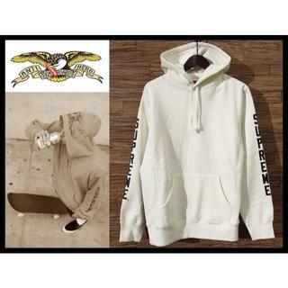 Supreme - 新品 SUPREME ANTI HERO Hooded Sweatshirt M