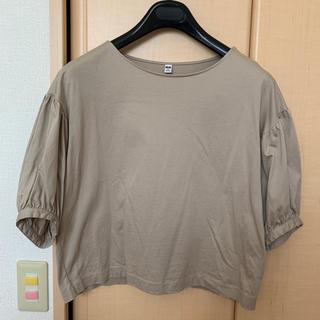 ユニクロ(UNIQLO)のユニクロ Tシャツ カットソー  sizeM(Tシャツ/カットソー(七分/長袖))
