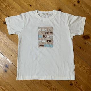 コムサデモード(COMME CA DU MODE)のコムサデモードTシャツ 130cm(Tシャツ/カットソー)