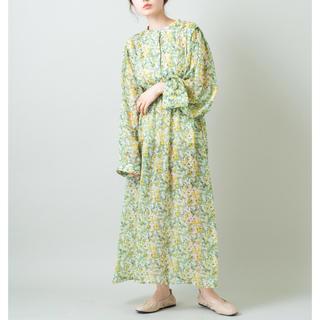 Kastane - Kastane ペイント柄シアーワンピース