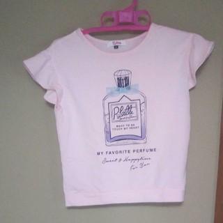 ピンクラテ(PINK-latte)のピンクラテ厚手Tシャツ XS150(Tシャツ/カットソー)