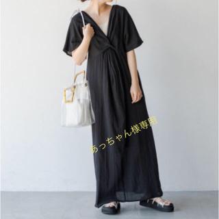 Kastane - 完売♡kastane 楊柳2WAYワンピース♡ブラック
