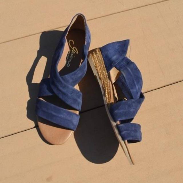 UNITED ARROWS(ユナイテッドアローズ)のユナイテッドアローズ ガイモ エスパドリーユサンダル 36 レディースの靴/シューズ(サンダル)の商品写真